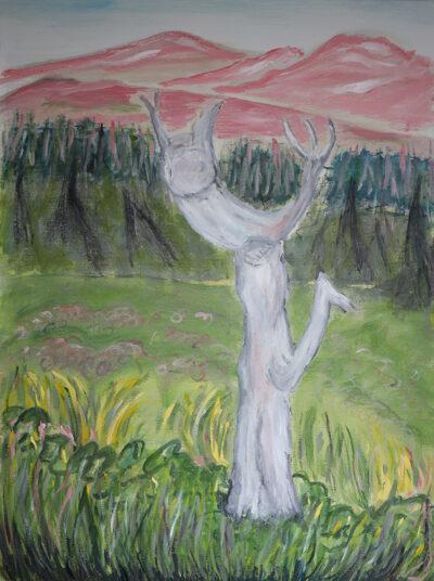 Satumaa, 2020-21, öljy kankaalle 80 x 60 cm